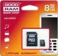 Secure Digital Micro 8GB GoodRam