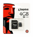 Secure Digital Micro SD 4GB Kingston